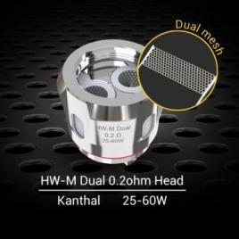 Résistance HW-M / HW-N Dual 0,2 Ohm de Eleaf