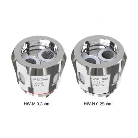 Résistance HW-N Dual 0,25 Ohm de Eleaf