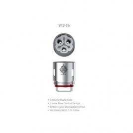 Resistances TFV12 Prince T6 0,17 Ohm de Smoktech