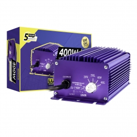 Ballast électronique dimmable 400 W de Lumatek