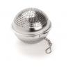 Boule à thé Dammann inox et ronde avec chainette
