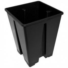 Pot carré 3.4L 15x15x20cm de Pasquini & Bini