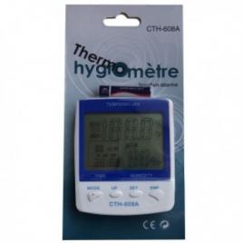 Thermohygromètre grand écran A608 de Winflex