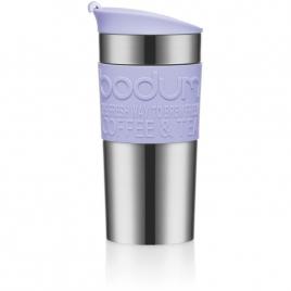 Mug Isotherme Double Paroi inox 35 Cl Couvercle Clapet Color Bodum