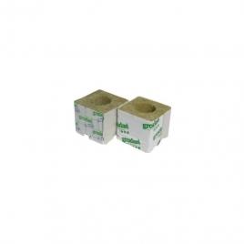 Cube laine de Roche 75x75  troué