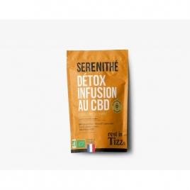 Infusion au CBD Serenithé Detox by TIZZ®