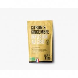 Infusion au CBD Citron Gingembre by TIZZ®