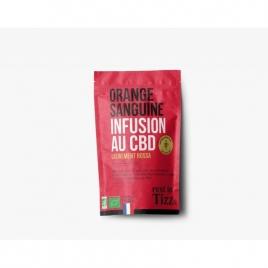 Infusion au CBD Orange sanguine by TIZZ®