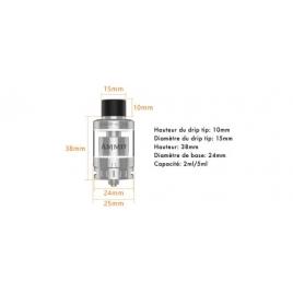 Ammit 25 RTA 2,5ml De Geekvape Silver