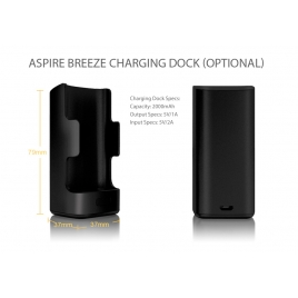 Chargeur Dock Breeze 2000 Mah De Aspire