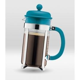Cafetière piston Caffettiera Turquoise 8 tasses Bodum