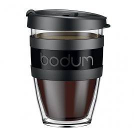 Mug à emporter Joycup 30 cl - Noir - Bodum
