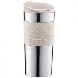 Travel Mug inox double paroi 0,35 l Blanc crème Bodum