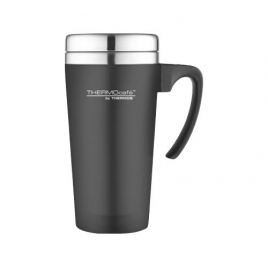 Mug isotherme soft touch noir 42cl ThermoCafé by Thermos