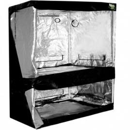 Chambre de culture Dual Black Box Silver 150x80x200cm