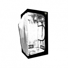 Chambre de culture Black Box Silver V2 100x100x200 cm