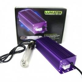 Ballast électronique dimmable 600W avec ampoule 400 W de Lumatek